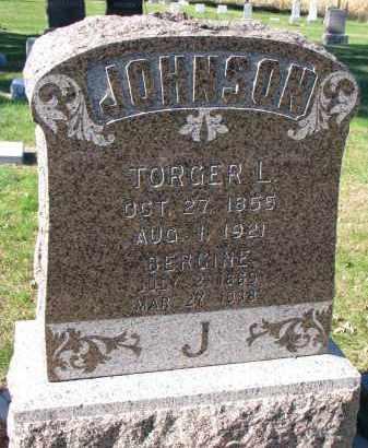 JOHNSON, TORGER L. - Yankton County, South Dakota | TORGER L. JOHNSON - South Dakota Gravestone Photos