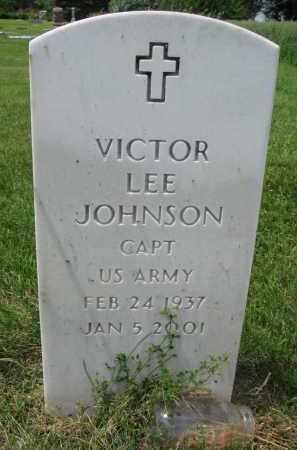 JOHNSON, VICTOR LEE - Yankton County, South Dakota | VICTOR LEE JOHNSON - South Dakota Gravestone Photos