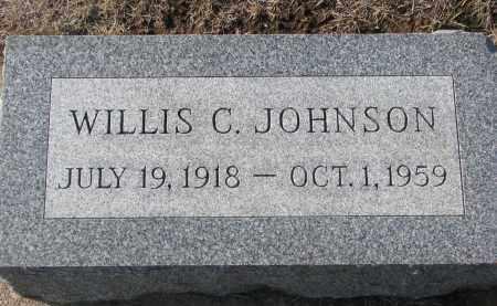 JOHNSON, WILLIS C. - Yankton County, South Dakota | WILLIS C. JOHNSON - South Dakota Gravestone Photos
