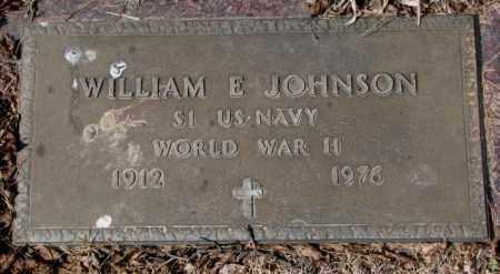 JOHNSON, WILLIAM E. (WW II) - Yankton County, South Dakota | WILLIAM E. (WW II) JOHNSON - South Dakota Gravestone Photos