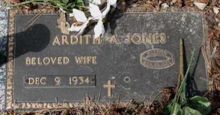 JONES, ARDITH A. - Yankton County, South Dakota | ARDITH A. JONES - South Dakota Gravestone Photos