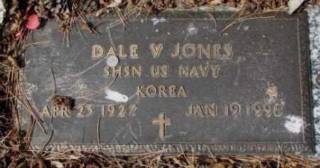 JONES, DALE V. - Yankton County, South Dakota | DALE V. JONES - South Dakota Gravestone Photos