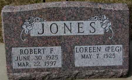 JONES, ROBERT F. - Yankton County, South Dakota | ROBERT F. JONES - South Dakota Gravestone Photos