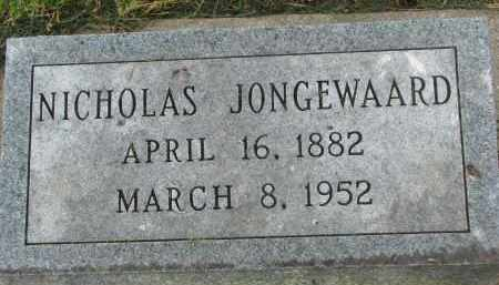 JONGEWAARD, NICHOLAS - Yankton County, South Dakota | NICHOLAS JONGEWAARD - South Dakota Gravestone Photos