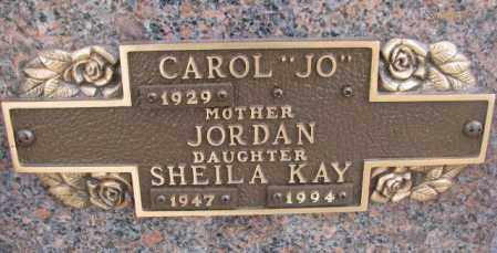 JORDAN, SHEILA KAY - Yankton County, South Dakota | SHEILA KAY JORDAN - South Dakota Gravestone Photos