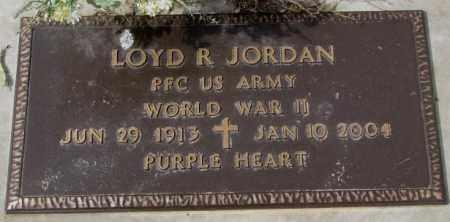 JORDAN, LOYD R. - Yankton County, South Dakota | LOYD R. JORDAN - South Dakota Gravestone Photos