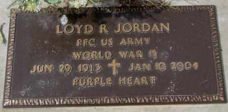 JORDAN, LOYD R. - Yankton County, South Dakota | LOYD R. JORDAN - South Dakota Gravestone Photos