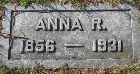 JUNKER, ANNA R. - Yankton County, South Dakota | ANNA R. JUNKER - South Dakota Gravestone Photos
