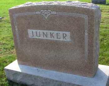 JUNKER, FAMILY STONE - Yankton County, South Dakota | FAMILY STONE JUNKER - South Dakota Gravestone Photos