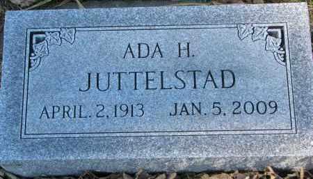 JUTTELSTAD, ADA H. - Yankton County, South Dakota | ADA H. JUTTELSTAD - South Dakota Gravestone Photos