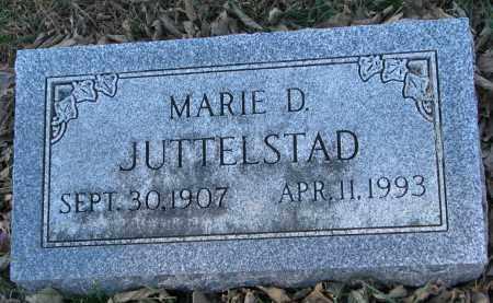 JUTTELSTAD, MARIE D. - Yankton County, South Dakota   MARIE D. JUTTELSTAD - South Dakota Gravestone Photos
