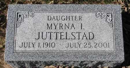 JUTTELSTAD, MYRNA I. - Yankton County, South Dakota   MYRNA I. JUTTELSTAD - South Dakota Gravestone Photos