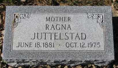 JUTTELSTAD, RAGNA - Yankton County, South Dakota | RAGNA JUTTELSTAD - South Dakota Gravestone Photos