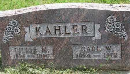 KAHLER, LILLIE M. - Yankton County, South Dakota | LILLIE M. KAHLER - South Dakota Gravestone Photos