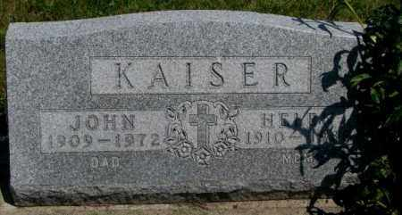 KAISER, JOHN - Yankton County, South Dakota | JOHN KAISER - South Dakota Gravestone Photos