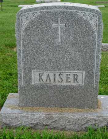 KAISER, PLOT - Yankton County, South Dakota | PLOT KAISER - South Dakota Gravestone Photos