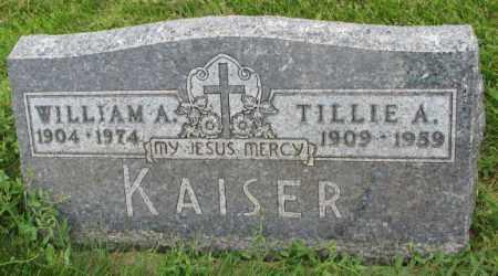 KAISER, TILLIE A. - Yankton County, South Dakota | TILLIE A. KAISER - South Dakota Gravestone Photos