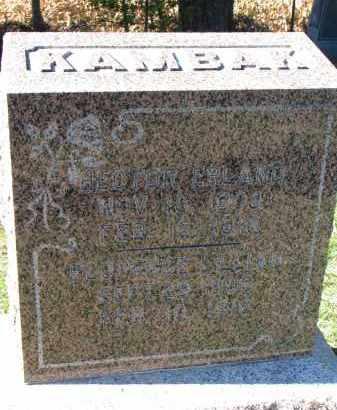 KAMBAK, FLORENCE LILLIAN - Yankton County, South Dakota   FLORENCE LILLIAN KAMBAK - South Dakota Gravestone Photos