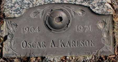 KARLSON, OSCAR A. - Yankton County, South Dakota | OSCAR A. KARLSON - South Dakota Gravestone Photos