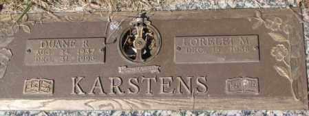 KARSTENS, DUANE R. - Yankton County, South Dakota   DUANE R. KARSTENS - South Dakota Gravestone Photos