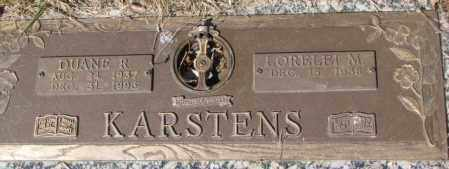 KARSTENS, LORELEI M. - Yankton County, South Dakota | LORELEI M. KARSTENS - South Dakota Gravestone Photos