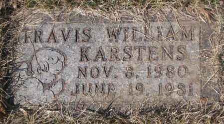 KARSTENS, TRAVIS WILLIAM - Yankton County, South Dakota | TRAVIS WILLIAM KARSTENS - South Dakota Gravestone Photos