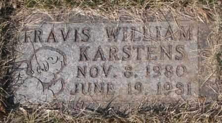 KARSTENS, TRAVIS WILLIAM - Yankton County, South Dakota | TRAVIS WILLIAM KARSTENS - South Dakota Gravestone Photos