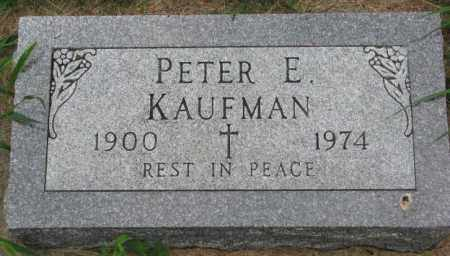 KAUFMAN, PETER E. - Yankton County, South Dakota | PETER E. KAUFMAN - South Dakota Gravestone Photos