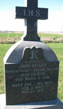 KELLEY, MARY ANN - Yankton County, South Dakota | MARY ANN KELLEY - South Dakota Gravestone Photos