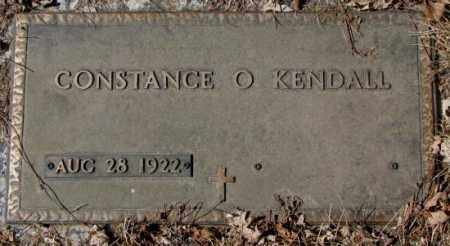 KENDALL, CONSTANCE O. - Yankton County, South Dakota   CONSTANCE O. KENDALL - South Dakota Gravestone Photos
