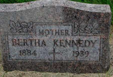 KENNEDY, BERTHA - Yankton County, South Dakota | BERTHA KENNEDY - South Dakota Gravestone Photos