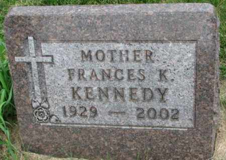 KENNEDY, FRANCES K. - Yankton County, South Dakota | FRANCES K. KENNEDY - South Dakota Gravestone Photos