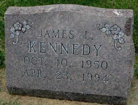 KENNEDY, JAMES L. - Yankton County, South Dakota | JAMES L. KENNEDY - South Dakota Gravestone Photos