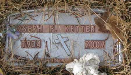 KETTER, JOSEPH F. - Yankton County, South Dakota | JOSEPH F. KETTER - South Dakota Gravestone Photos