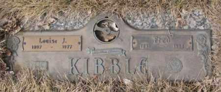 KIBBLE, FRED - Yankton County, South Dakota   FRED KIBBLE - South Dakota Gravestone Photos