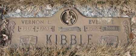 KIBBLE, EVELYN E. - Yankton County, South Dakota | EVELYN E. KIBBLE - South Dakota Gravestone Photos