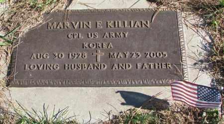 KILLIAN, MARVIN E. - Yankton County, South Dakota   MARVIN E. KILLIAN - South Dakota Gravestone Photos