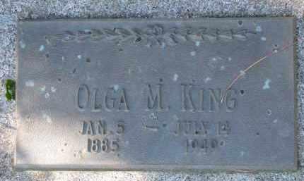 KING, OLGA M. - Yankton County, South Dakota | OLGA M. KING - South Dakota Gravestone Photos