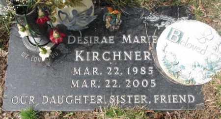 KIRCHNER, DESIRAE MARIE - Yankton County, South Dakota   DESIRAE MARIE KIRCHNER - South Dakota Gravestone Photos