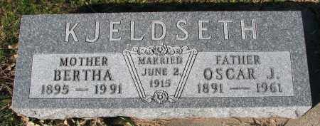 KJELDSETH, OSCAR J. - Yankton County, South Dakota | OSCAR J. KJELDSETH - South Dakota Gravestone Photos