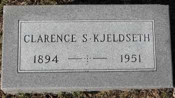 KJELDSETH, CLARENCE S. - Yankton County, South Dakota   CLARENCE S. KJELDSETH - South Dakota Gravestone Photos