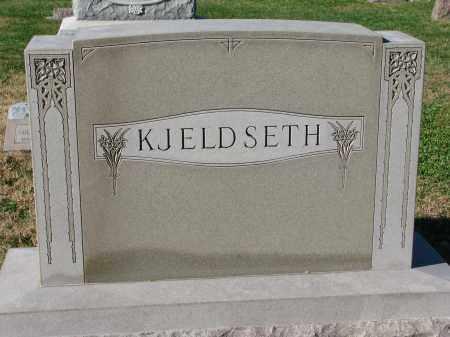 KJELDSETH, FAMILY STONE - Yankton County, South Dakota | FAMILY STONE KJELDSETH - South Dakota Gravestone Photos