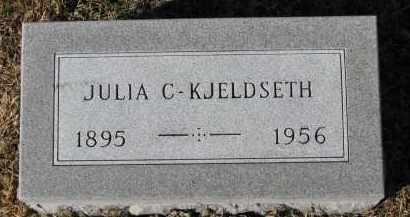KJELDSETH, JULIA C. - Yankton County, South Dakota | JULIA C. KJELDSETH - South Dakota Gravestone Photos