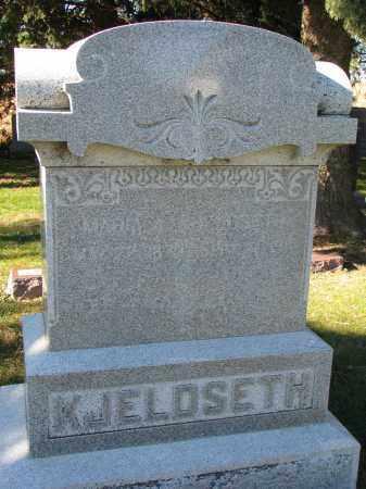 KJELDSETH, MARIA A. - Yankton County, South Dakota | MARIA A. KJELDSETH - South Dakota Gravestone Photos