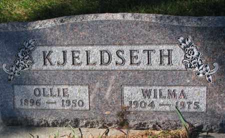 KJELDSETH, OLLIE - Yankton County, South Dakota   OLLIE KJELDSETH - South Dakota Gravestone Photos