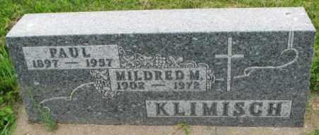 KLIMISCH, MILDRED M. - Yankton County, South Dakota | MILDRED M. KLIMISCH - South Dakota Gravestone Photos