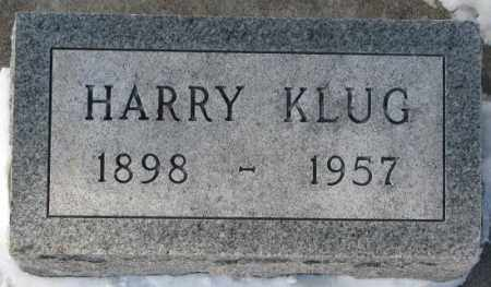 KLUG, HARRY - Yankton County, South Dakota | HARRY KLUG - South Dakota Gravestone Photos