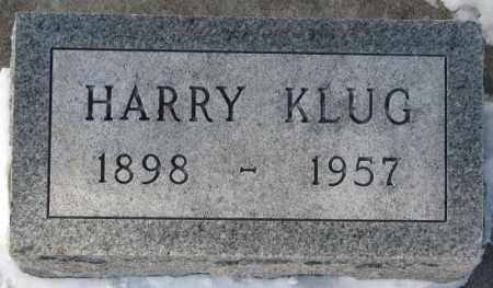 KLUG, HARRY - Yankton County, South Dakota | HARRY KLUG - South Dakota Gravestone Photos
