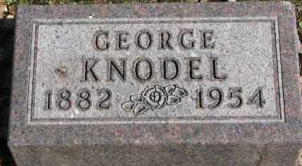 KNODEL, GEORGE - Yankton County, South Dakota | GEORGE KNODEL - South Dakota Gravestone Photos