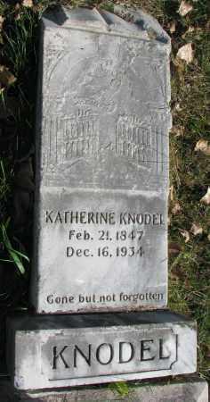 KNODEL, KATHERINE - Yankton County, South Dakota | KATHERINE KNODEL - South Dakota Gravestone Photos
